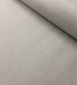 Хлопковая ткань польская графитовый однотонный