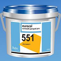 Дисперсионный клей для паркета Forbo 551 Eurosafe Parquet PRO / 22 кг