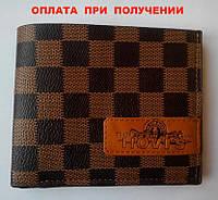 Мужской кожаный кошелек портмоне бумажник HOVIS