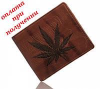 Мужской кожаный кошелек портмоне бумажник VANDREAM