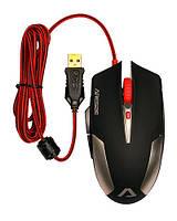 Мышь ARESZE Game V710, USB, игровая, оптик. 2500dpi, 7 кнопок