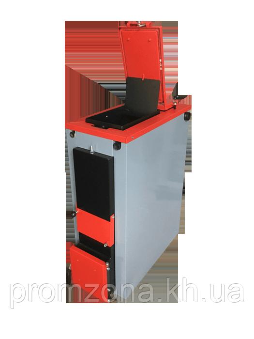 Твердотопливный котел TverdoTOP HARD TH-15 Plus (с утеплителем) - PromZona - отопление, водоснабжение, канализация в Харькове