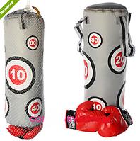 Боксерский набор детский груша с перчатками Profi M 2916