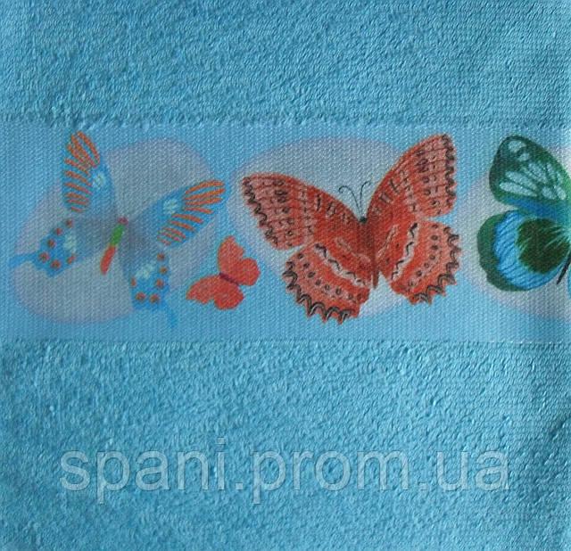 Рушник махровий для кухні 40*60, Метелик, Пакистан