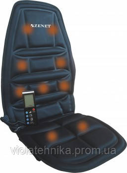 Массажная накидка на автокресло Zenet ZET-771, фото 2