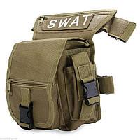 Набедренная сумка тактическая SWAT на бедро