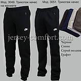 Чоловічі брюки утеплені - трикотаж-начіс. Різні кольори., фото 2