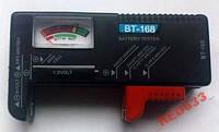 Тестер элементов питания BT-168 универсальный