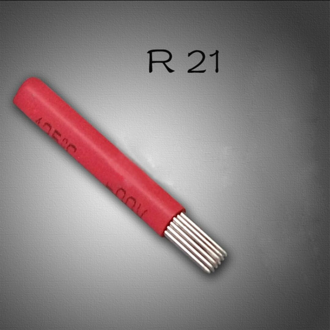 Игла для микроблейдинга 21R