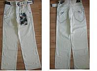 Льняные брюки, штаны мужские Лето.С ремнем