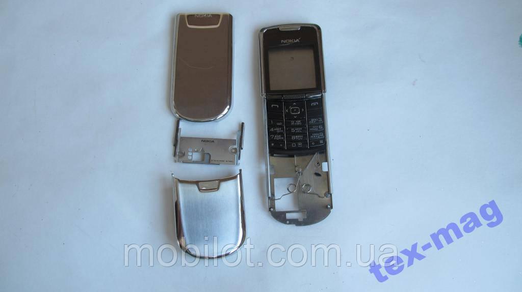 Корпус для Nokia 8800  silver Оригинал (TZ-935)