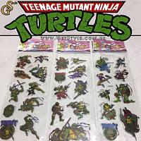 """Наклейки Черепашки-ниндзя - """"Turtles Set"""" - 28 шт., фото 1"""