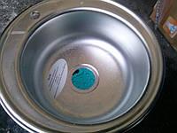 Мойка кухонная Haibа(GLON) 49см покрытие дэкор.