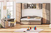 Дитяча кімната ДЧ-4112 Комфорт-Мебель / Комплекты детской мебели ДЧ-4112 Комфорт-Мебель, фото 1