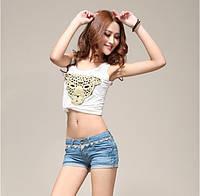 Стильные женские джинсовые шорты в наличии