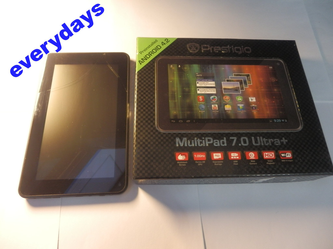 Планшет Prestigio MultiPad 7.0 Ultra PMP3670B #762