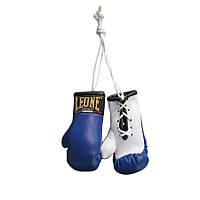 Сувенирные боксерские перчатки в автомобиль Blue пара