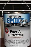 Покрытие для бетонных полов, серый, Epoxy Shield, 7,57 litre, Rust Oleum, фото 4