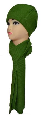 Набор шарф и шапка женские