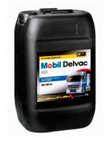 Моторное масло Mobil1 Delvac MX 15W-40 20L минералка для MAN , VOLVO , SCANIA , RENAULT , MERCEDES-BENZ