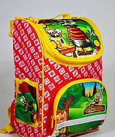 Детский ортопедический  рюкзак Tiger (тайгер)2922 красный