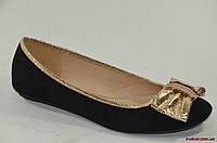 Стильные балетки KAMIDY black, фото 1