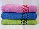 Яркое махровое полотенце. Размер: 1,0 x 0,5 , фото 2