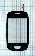 Тачскрин сенсорное стекло для Samsung S5282 Galaxy Star black
