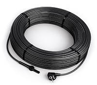 Двужильный нагревательный кабель DAS 30 Вт/м, длина 49м со фторопластовой внутренней