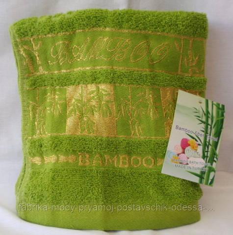 Оригинальное махровое полотенце. Размер: 1,0 x 0,5