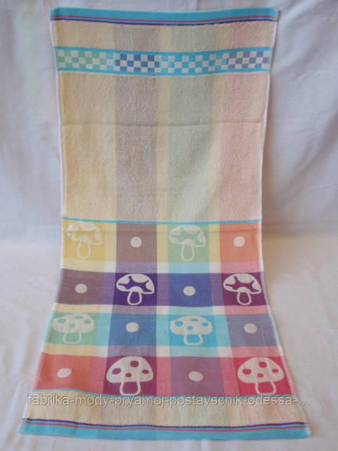 Красивое махровое полотенце. Размер: 1,4 x 0,7
