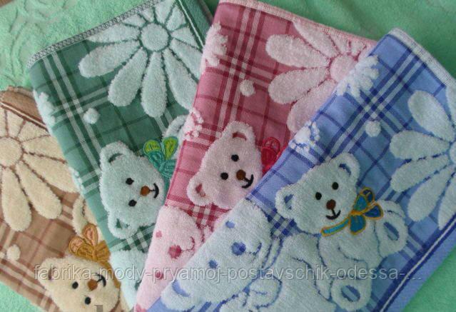 Детское кухонное полотенце. Размер: 0,35 x 0,75