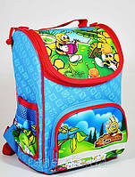 Детский ортопедический  рюкзак Tiger (тайгер)2922 голубой