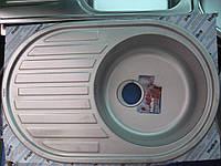 Мойка кухонная Haiba 770х500мм микродекор.