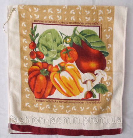 Симпатичное кухонное полотенце. Размер: 0,35 x 0,75