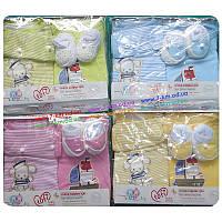 Комплект для младенцев Vit7266 трикотаж 2 шт (0-3 мес)