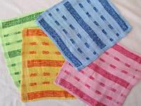 Недорогие махровые салфетки. Размер: 0,30 x 0,30