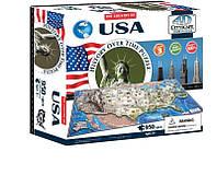 Объемный пазл 4D Cityscape Соединенные Штаты Америки 950 элементов (40008)