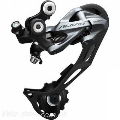 Задний велосипедный переключатель Shimano Alivio RD-M4000 Shadow SGS, длинная лапка