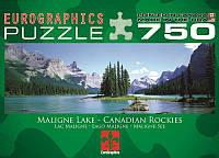 Пазл Eurographics Канадские Скалистые горы, озеро Малайн 750 элементов (6005-1418)