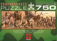 Пазл Eurographics Динозавры 750 элементов (6005-4650)