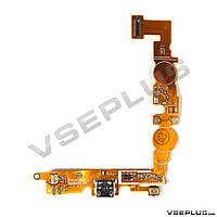 Шлейф LG E455 Optimus L5 Dual, с разъемом на зарядку, с микрофоном