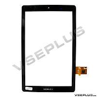 Тачскрин (сенсор) под китайский планшет Mediacom SmartPad iPro3G, FPCA-10A01-V02, черный, 10.1 inch