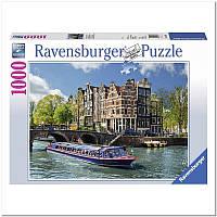 Пазл Ravensburger Экскурсия по каналу. Амстердам 1000 элементов (RSV-191383)