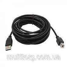 Кабель SVEN USB 2.0 Am-Bm (інтерфейсний) 5.0 m
