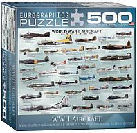 Пазл Eurographics Самолеты 2-й Мировой войны 500 элементов (8500-0075)