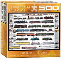 Пазл Eurographics История поездов 500 элементов (8500-0251)