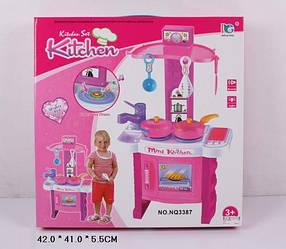 Подарок кухня для девочки музыкальная