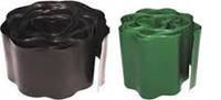 Садовый газонный бордюр Целфаст Cellfast 15x900 см Зеленый коричневый