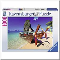 Пазл Ravensburger Лодки На Карибах 1000 элементов (RSV-194773)
